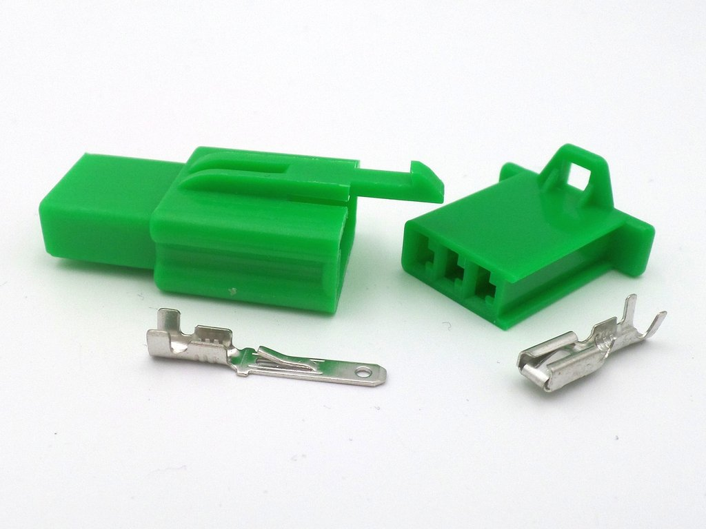 2 8mm 3 way green mtw motorcycle wiring loom connector kit rh kojaycat co uk