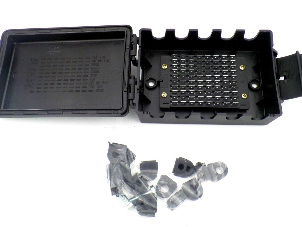 10 Way Automotive Trailer Junction Wiring Box