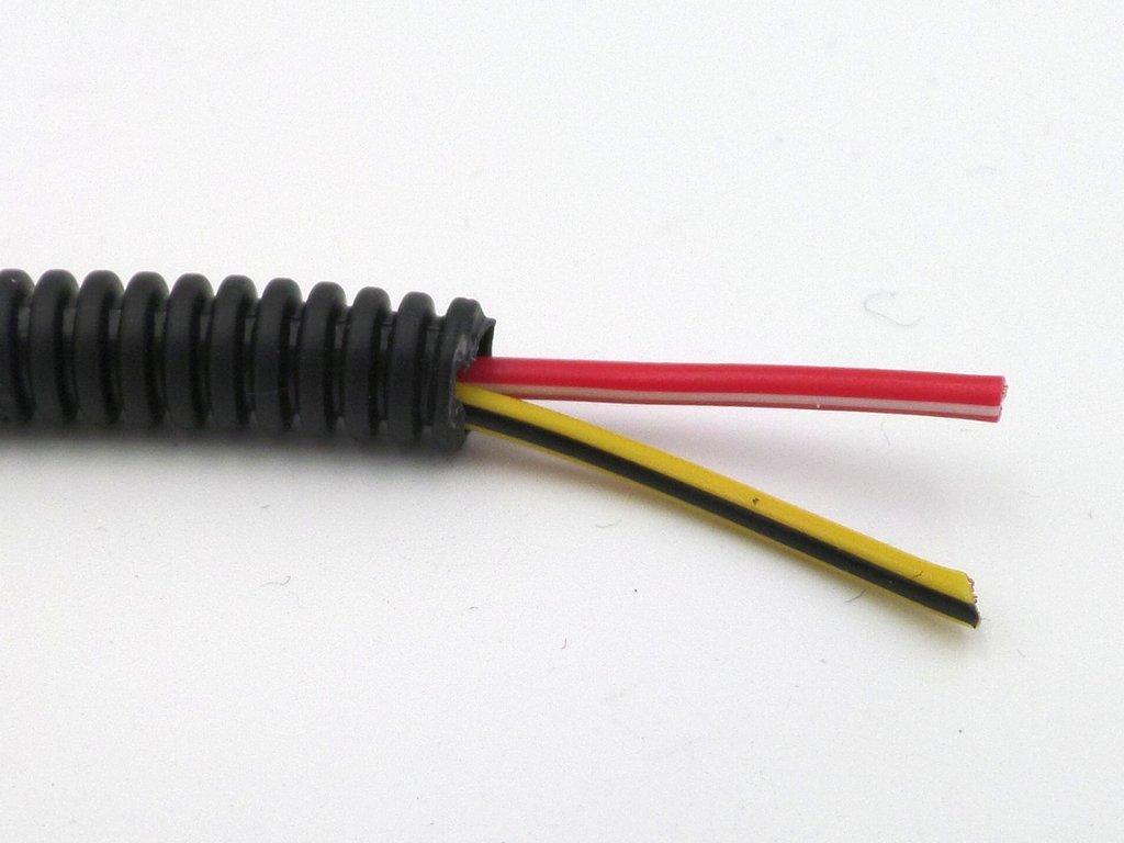 4.5mm Convoluted Split Auto Wiring Harness Tubing ...