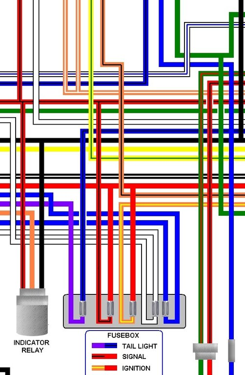 ccm 644 dual sport colour motorcycle wiring loom diagram ccm 644 dual sport colour wiring diagram