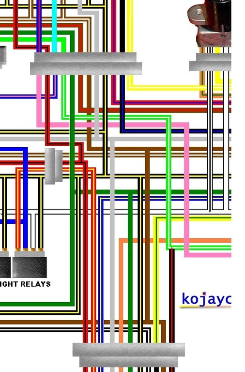 motorcycle headlight 4 wires diagram motorcycle clutch