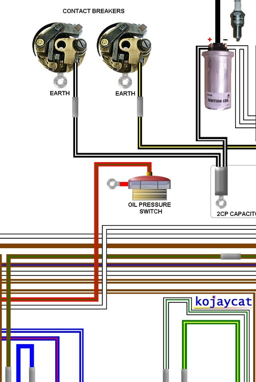 Triumph Tr R Colour Wiring Loom Diagram on Ducati Wiring Diagram