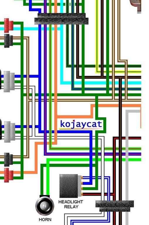 Honda Cbr250rr R Mc22 1991 Uk Spec Colour Wiring Loom Diagram
