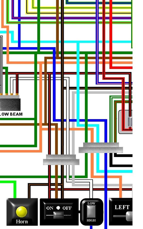 honda cbr900rr fireblade 1993-94 usa colour wiring diagram