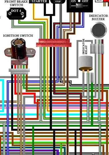 honda goldwing large a colour wiring harness circuit diagrams honda gl1100 goldwing 1980 standard uk colour wiring diagram