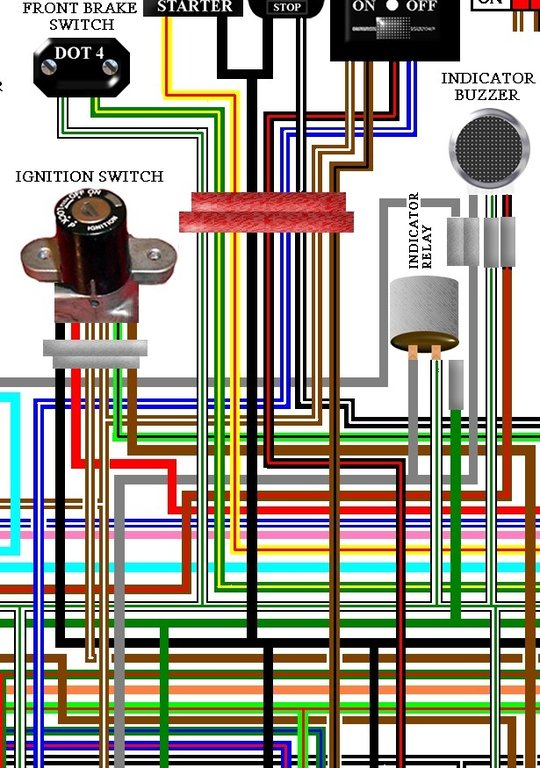 Honda_GL1100_Goldwing_colour_wiring_loom_diagram honda gl1800 wiring diagram honda wiring diagrams for diy car gl1000 wiring schematic at bayanpartner.co