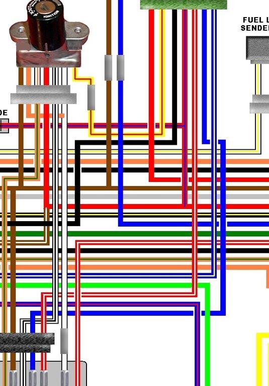 Astonishing Kawasaki Kz1000 A1 A2 Uk Euro Spec Colour Wiring Loom Diagram Wiring Digital Resources Remcakbiperorg