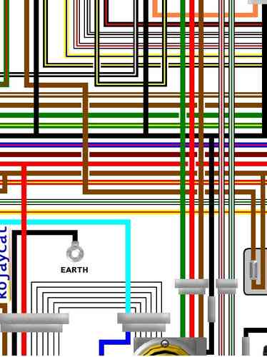 yamaha colour motorcycle wiring loom diagrams yamaha motorcycle wiring diagrams free yamaha rd250lc rd350lc ypvs colour wiring loom circuit ... #6