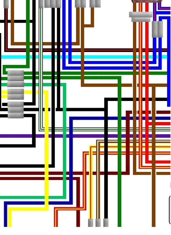 on a yamaha rd400 wiring diagram yamaha rd250 rd400 1976-78 uk/euro spec colour wiring diagram