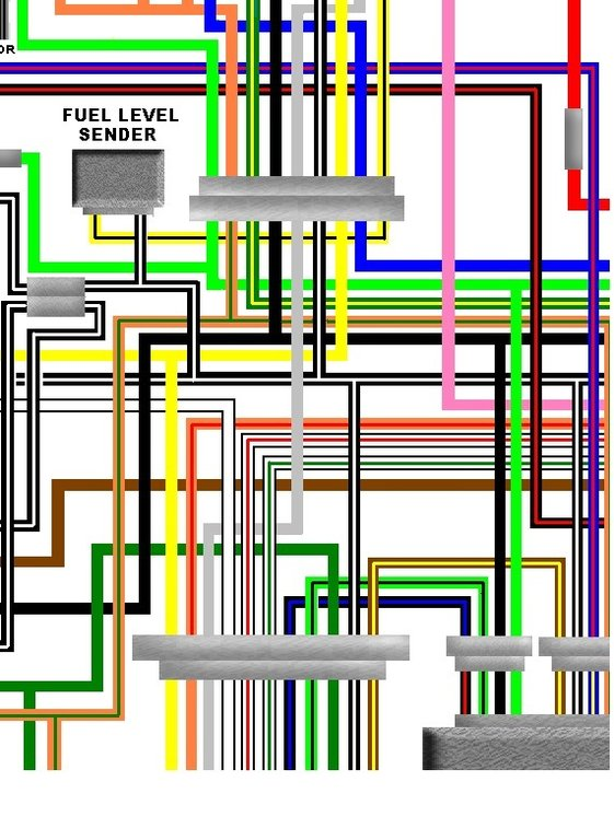 Suzuki_GS1000_colour_wiring_loom_diagram suzuki gs1000 gt 1980 european spec colour wiring loom diagram gs850g wiring diagram at n-0.co