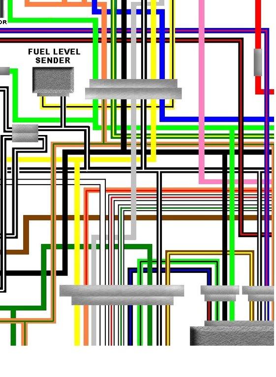 suzuki gs1000s 1979 holland spec colour electrical wiring diagram rh kojaycat co uk
