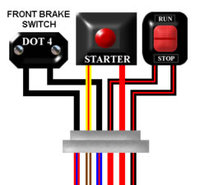 Suzuki GT380 1974 - 1978 UK/Euro Colour Electrical Wiring Diagram