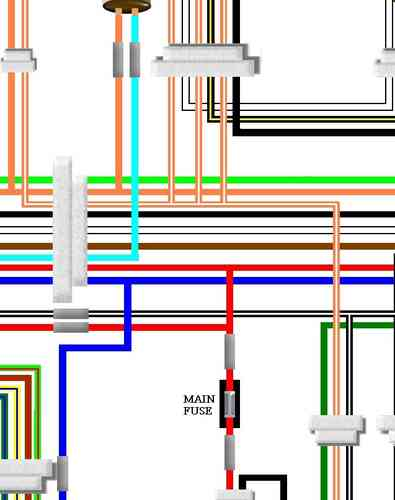 Suzuki Gt380 Colour Electrical Wiring Diagram