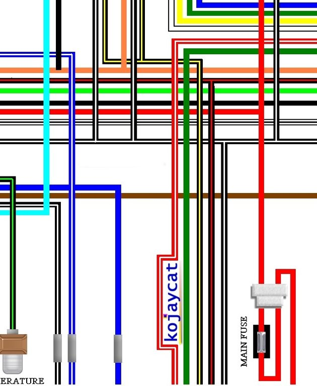 suzuki rg250 gamma 1984 86 uk spec colour wiring loom diagram