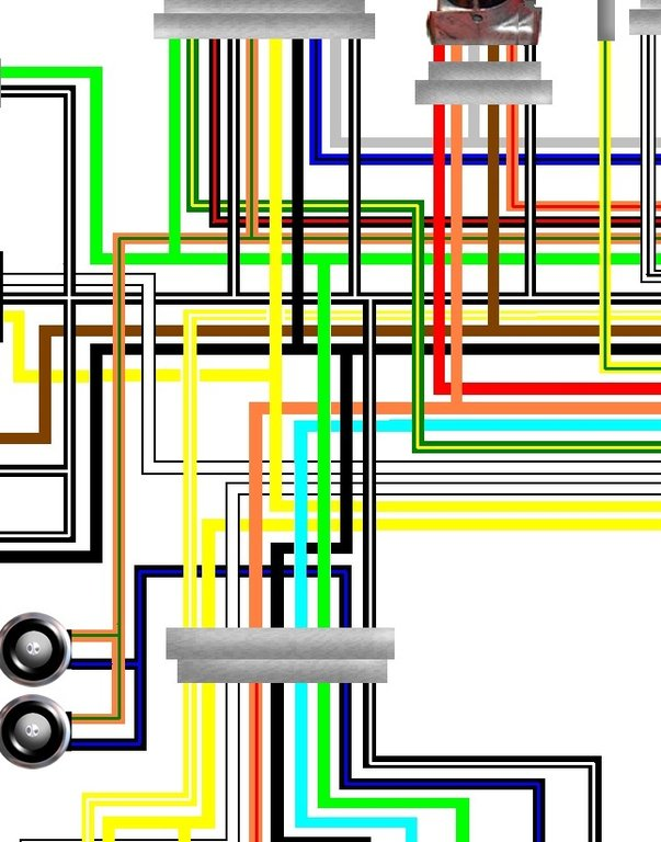 Suzuki_GSF600_Bandit_colour_wiring_loom_diagram suzuki gsf600 bandit 1995 97 uk spec colour wiring loom diagram suzuki ts185 wiring diagram at gsmx.co