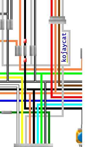 Suzuki Gt750 Colour Electrical Wiring Diagrams