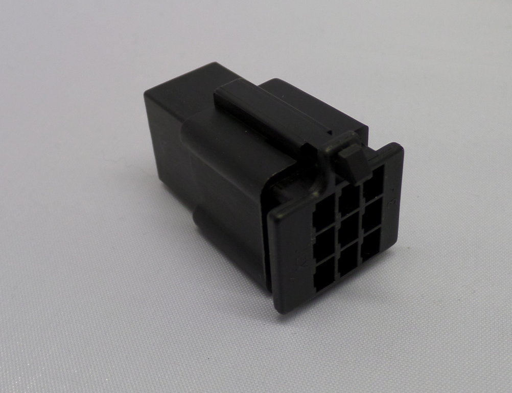 8mm 4 Way Black Mtw Motorcycle Wiring Loom Connector