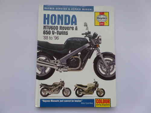 Used Haynes Honda NVT600 Revere Manual