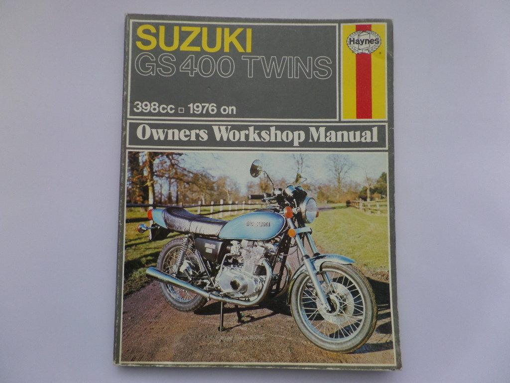 haynes suzuki gs400 twin workshop maintenance manual rh kojaycat co uk suzuki gs400 service manual 1978 suzuki gs400 manual