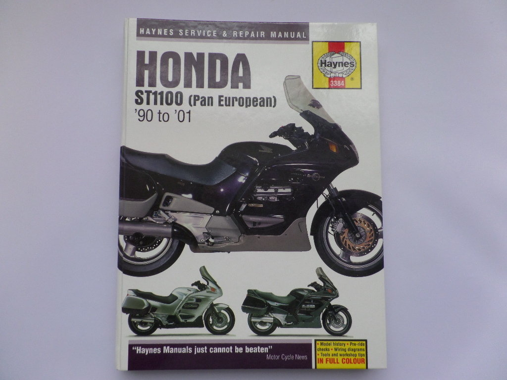 Used Haynes Honda ST1100 Pan European Manual ...