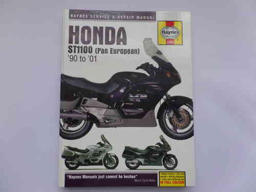 Used Haynes Honda ST1100 Pan European Manual