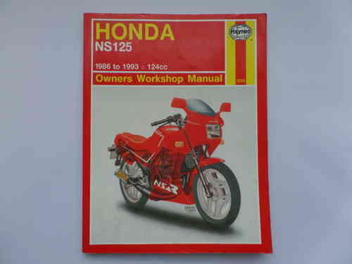 Used Haynes Honda NS125F NS125R Manual