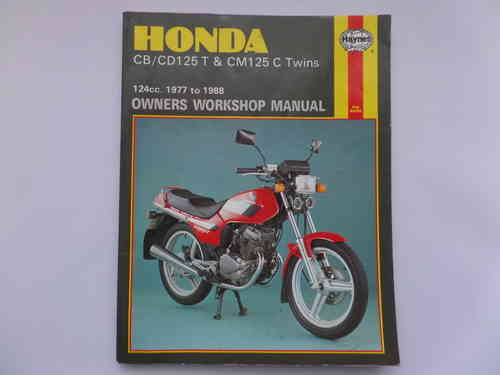 Used Haynes Honda CB/CD125 CM125 Manual
