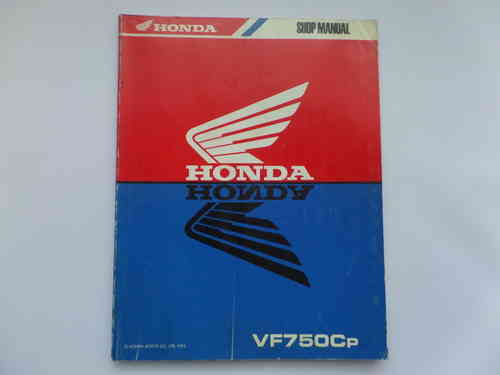 Used Honda VF750CP Factory Manual