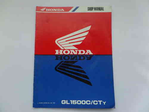 Used Honda GL1500C CTy Factory Addendum