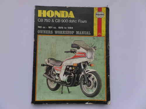 Used Haynes Honda CB750F CB900F Manual