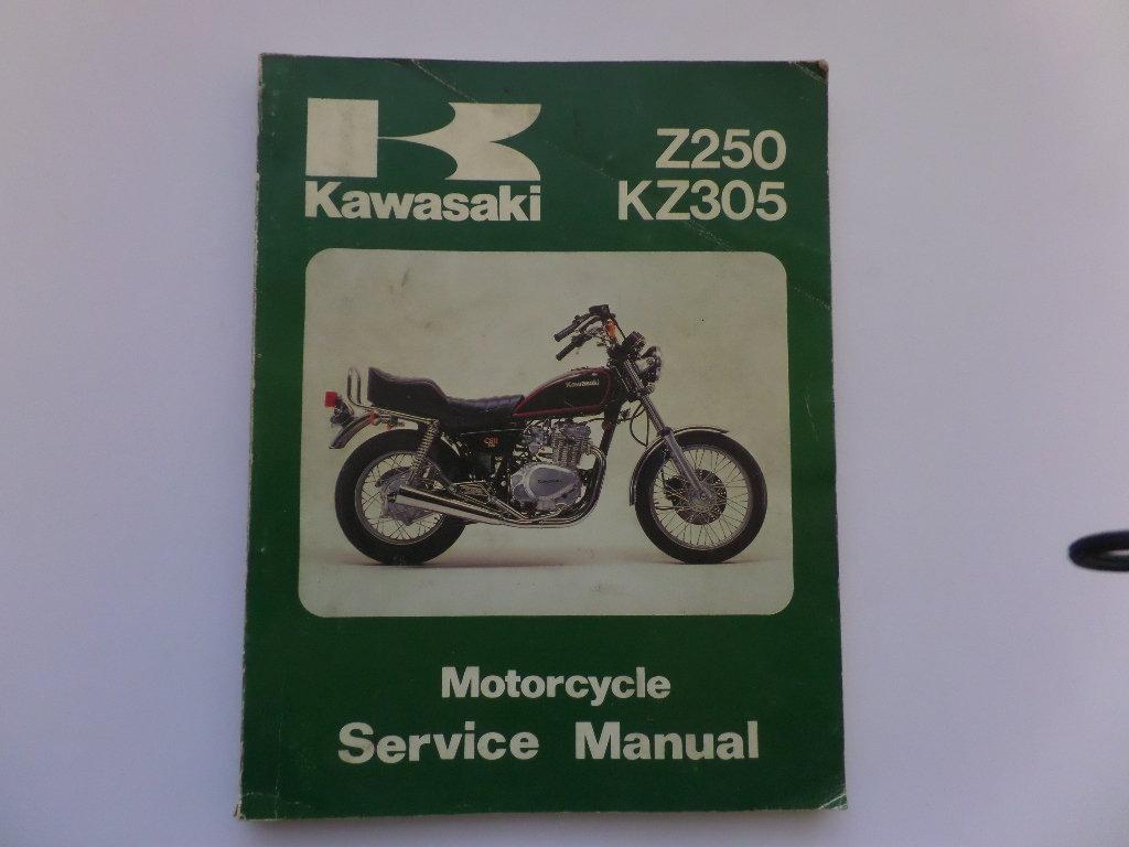 kawasaki z250 kz305 factory workshop maintenance manual rh kojaycat co uk Kawasaki Z150 KTM Duke 250