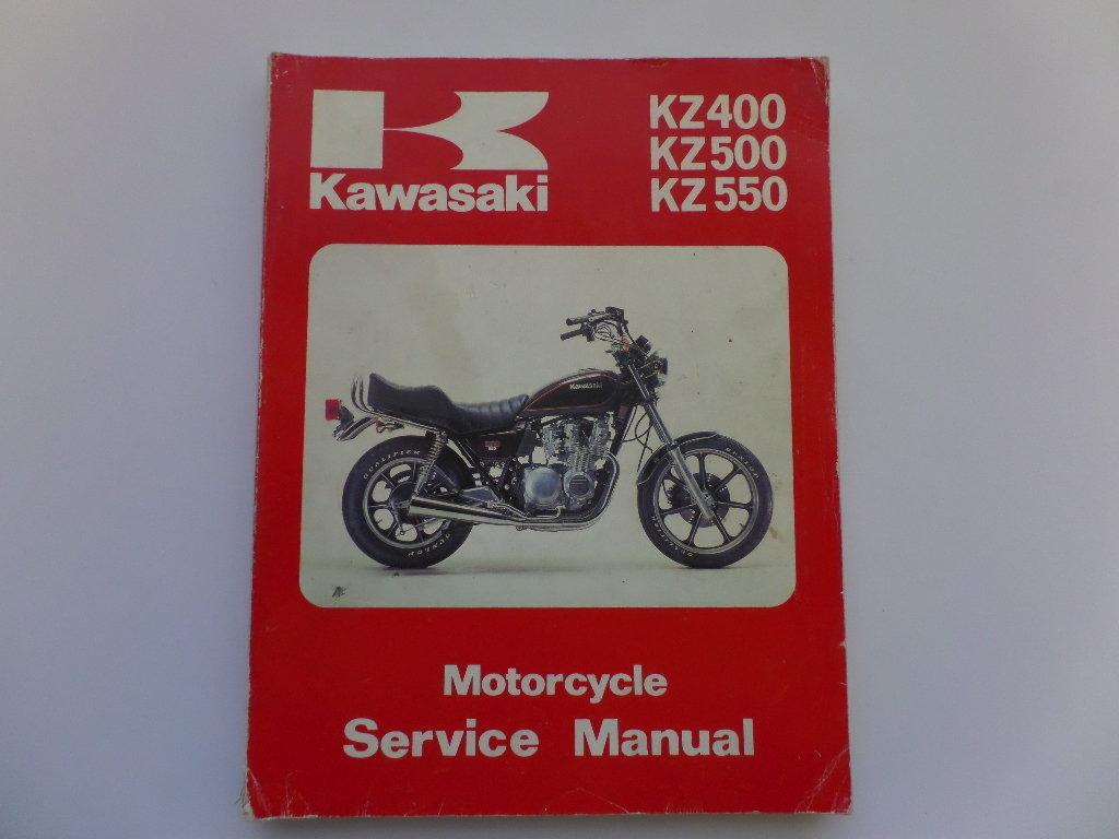 kawasaki kz400 kz500 kz550 factory workshop maintenance manual rh kojaycat co uk Kawasaki Car Kawasaki Oil