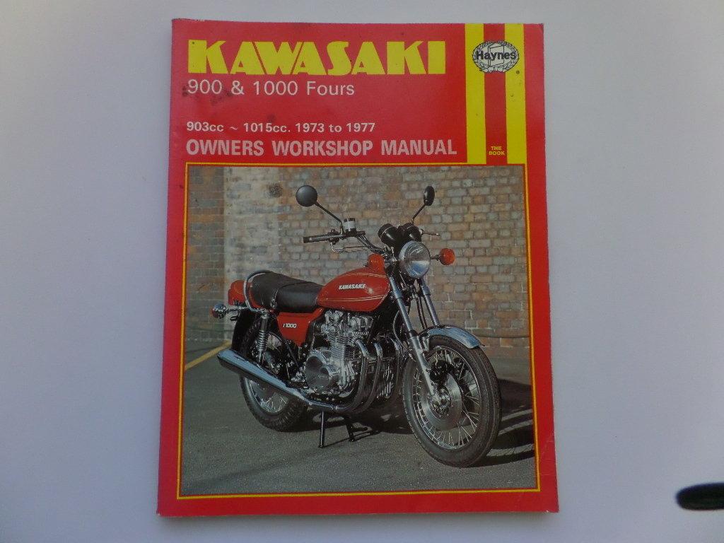 Kawasaki Z1 Z900 Z1000 Haynes Workshop Maintenance Manual Wiring Diagram Used 2