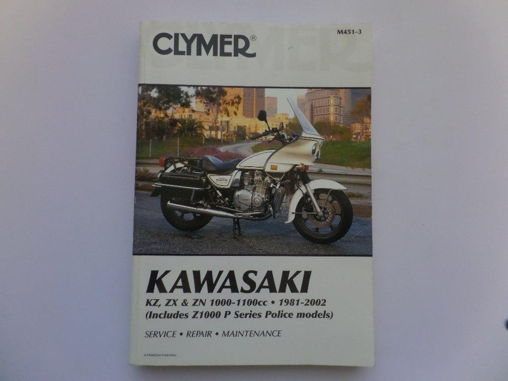 Used Kawasaki Z1000 Z1100 KZ1100 Clymer Manual ...