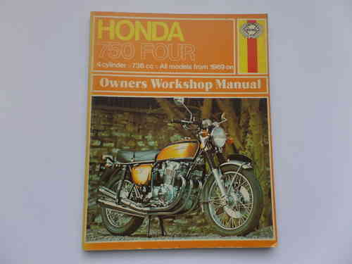 Used Haynes Honda CB750 Four Manual