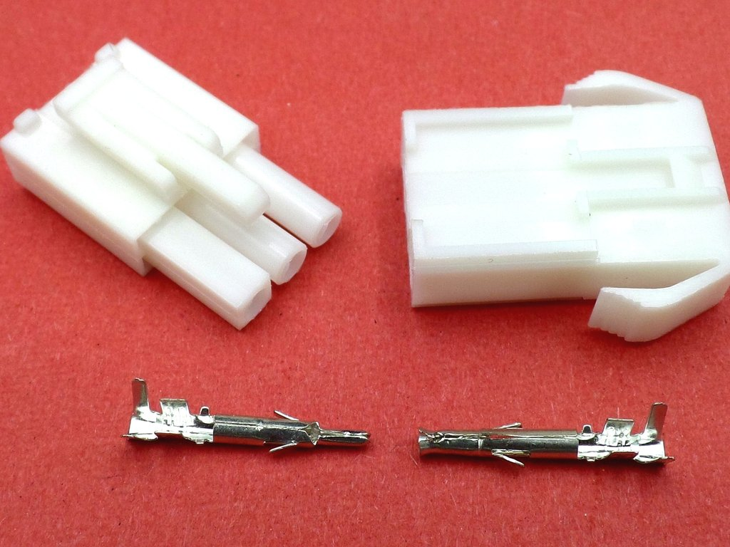 28mm 3 Way White Ccm 12v Motorcycle Wiring Loom Cable Connector Connectors Uk 12 Volt