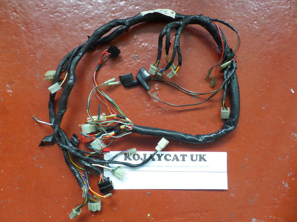 Kawasaki Gt750 Z750 P4 Main Wiring Loom Harness Used 26001 1655 Wire
