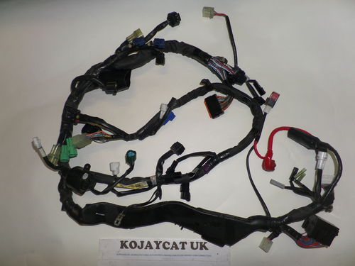 USED 2010 Yamaha R1 14B Main Harness Wiring Loom 14B-82590-02