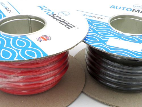 Tinned Copper 50mm² 345 Amp 1 AWG Marine Battery Cable