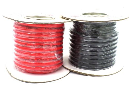 PVC 16mm² 6 AWG Hi-Flex 110 Amps Battery Cable 10m Reel