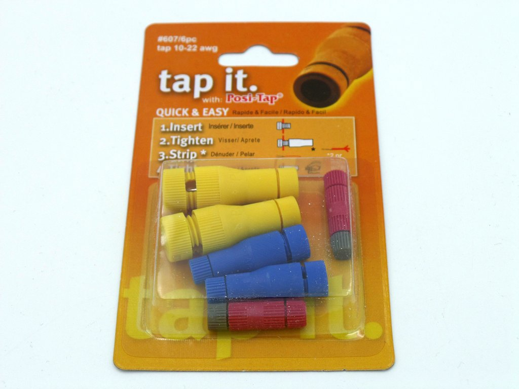 PL607 Posi-Tap Assorted Connectors 6 Pack
