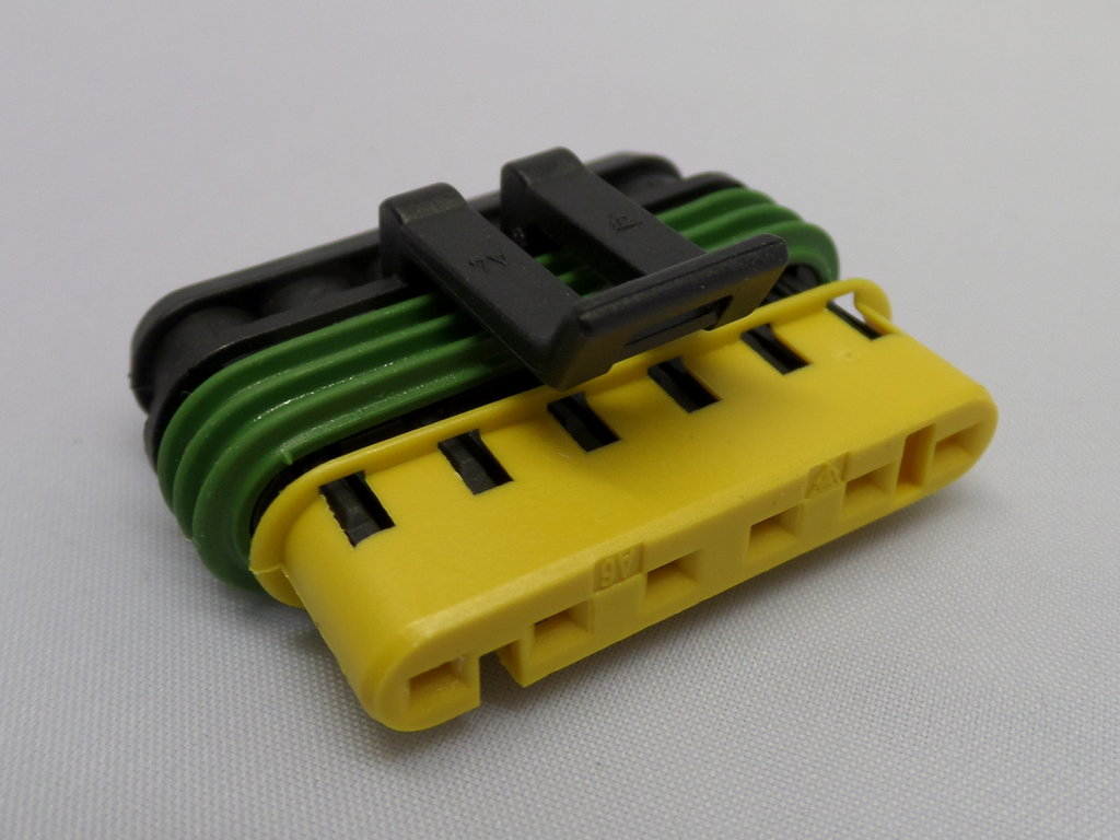6 Way 1 5mm Series Superseal Automotive Wiring Loom Connector