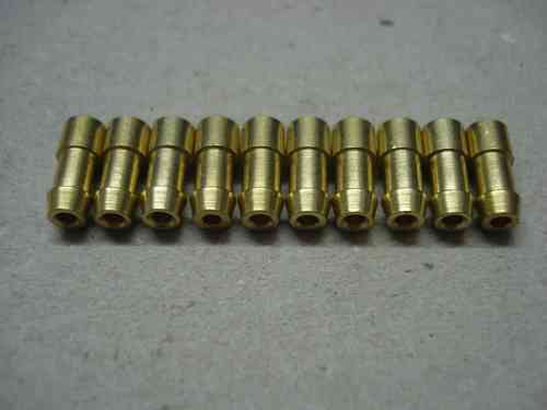 2.0mm² 4.7mm Brass Crimp Bullet 10 pack