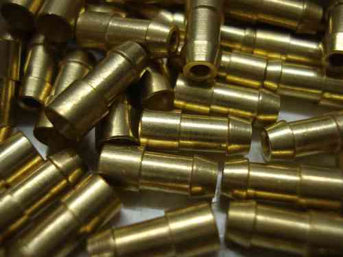 2mm_4.7mm_lucas_brass_bullet_m classic car & motorcycle 4 7mm lucas brass crimp & solder bullets