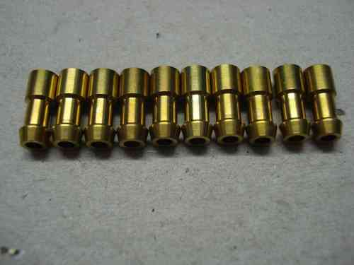 3.0mm 4.7mm Brass Crimp Bullet 10 pack