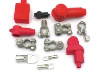 12 volt battery terminals and rings for battery leads