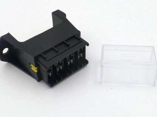 4 way fuse box wire management \u0026 wiring diagram Plug Fuse Box