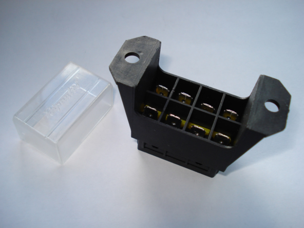 4 Way Vehicle Bottom Entry Blade Fuse Box with Terminals  Way Car Fuse Box on