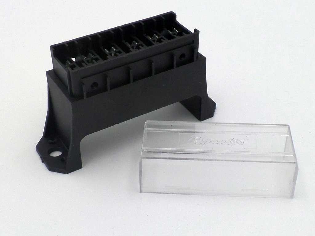 standard blade 6 way bottom entry fuse box
