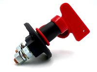 Car and marine battery isolator switches and circuit breakers